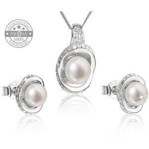 Pearl Set Necklace + Earrings 29026.1
